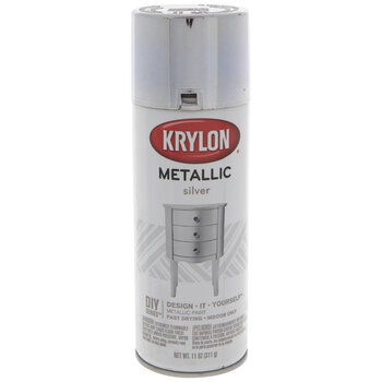 Silver Krylon Metallic Spray Paint