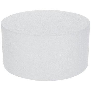 """SmoothFoM Foam Round Cake Form - 4"""" x 7.8"""""""