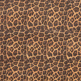 Leopard Print Cork Fabric