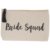 Bride Squad Cosmetic Bag