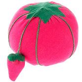 Hot Pink Tomato Pin Cushion