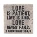 1 Corinthians 13:4 & 8 Decor