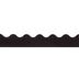 Black Scalloped Trimmer