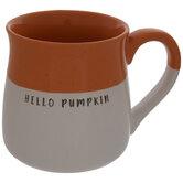 Hello Pumpkin Two-Tone Mug