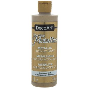 Dazzling Metallics Acrylic Paint - 8 Ounce