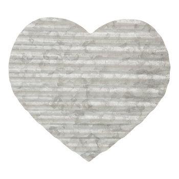 Corrugated Metal Heart Wall Decor