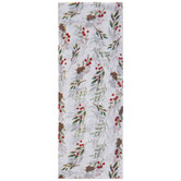 Holly & Pinecones Tissue Paper