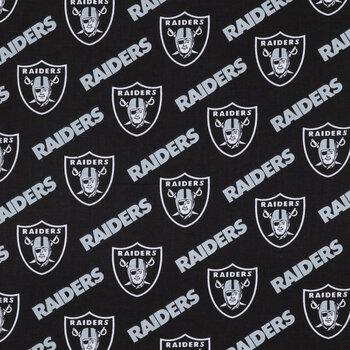 NFL Las Vegas Raiders Cotton Fabric
