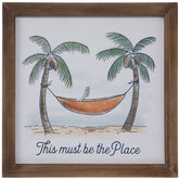This Must Be The Place Wood Wall Decor