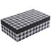 Black & White Buffalo Check Gift Box - 6 1/4