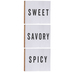 Sweet, Savory & Spicy Wood Wall Decor Set