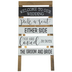 Pick A Seat Easel Wood Decor