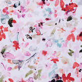 Watercolor Floral Knit Fabric