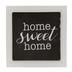 Miniature Home Sweet Home Framed Art