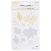 Holiday Florals Glimmer Hot Foil Plates & Dies