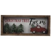 Christmas Tree Farm & Truck Wood Decor