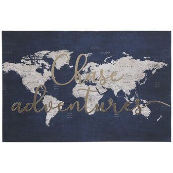 Chase Adventures Map Canvas Wall Decor