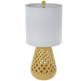 Yellow Basket Lamp