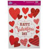 Happy Valentine's Day Window Clings