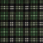 Plaid Anti-Pill Fleece Fabric