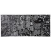 City At Night Canvas Wall Decor