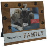 """One Of The Family Wood Clip Frame - 6"""" x 4"""""""