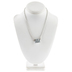 Chain Necklace With Loop Clasps - 16