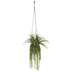 Green Mix In Geometric Flower Pot Hanging Decor