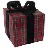 Tartan Gift Box Decor