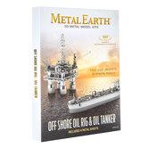 Off Shore Oil Rig Metal Earth 3D Model Kit