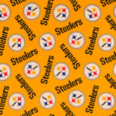 NFL Pittsburgh Steelers Fleece Fabric