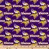 NFL Minnesota Vikings Cotton Fabric