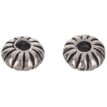 Disc Ring Beads - 8mm