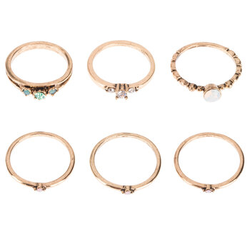 Stone Rings - Size 8