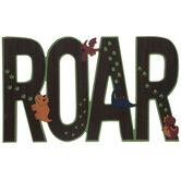 Roar Dinosaurs Wood Wall Decor