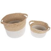 Two-Tone Basket Set