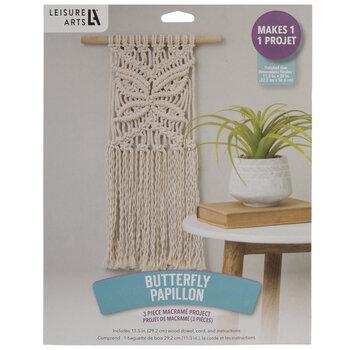 Macrame Butterfly Papillon Craft Kit