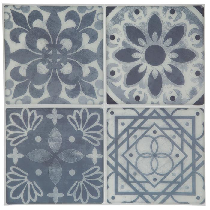 Navy Ornate Tile Adhesive Wall Art Hobby Lobby 1882463