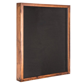 "Vintage Walnut Heirloom Collection Shadow Box - 22"" x 28"""