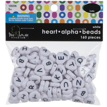Heart Alphabet Beads