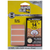 Super Glue Mounting Tape Strips