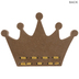 Yarn Queen Crown Wood Decor