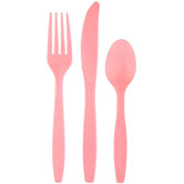Classic Pink Assorted Cutlery