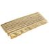 Gold Metallic Maxi Piping Bias Tape