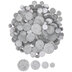 Frosted Rhinestone Discs