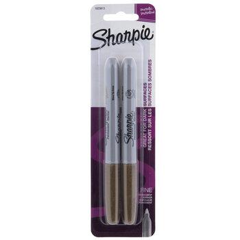 Metallic Fine Point Sharpie Markers - 2 Piece Set