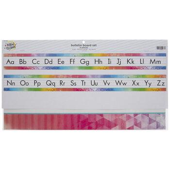 Rainbow Alphabet Bulletin Board Set