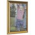 Gold Brushed Beveled Wall Frame - 11