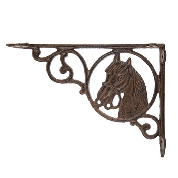 Horse Head Metal Bracket