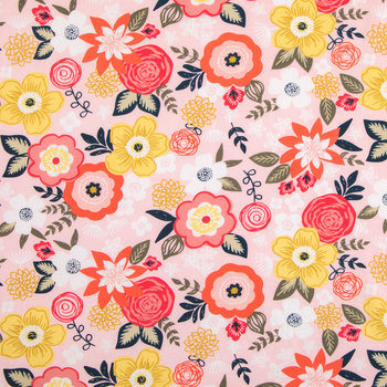 Lainsville Floral Knit Fabric